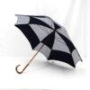 Parapluie carré pois bleu