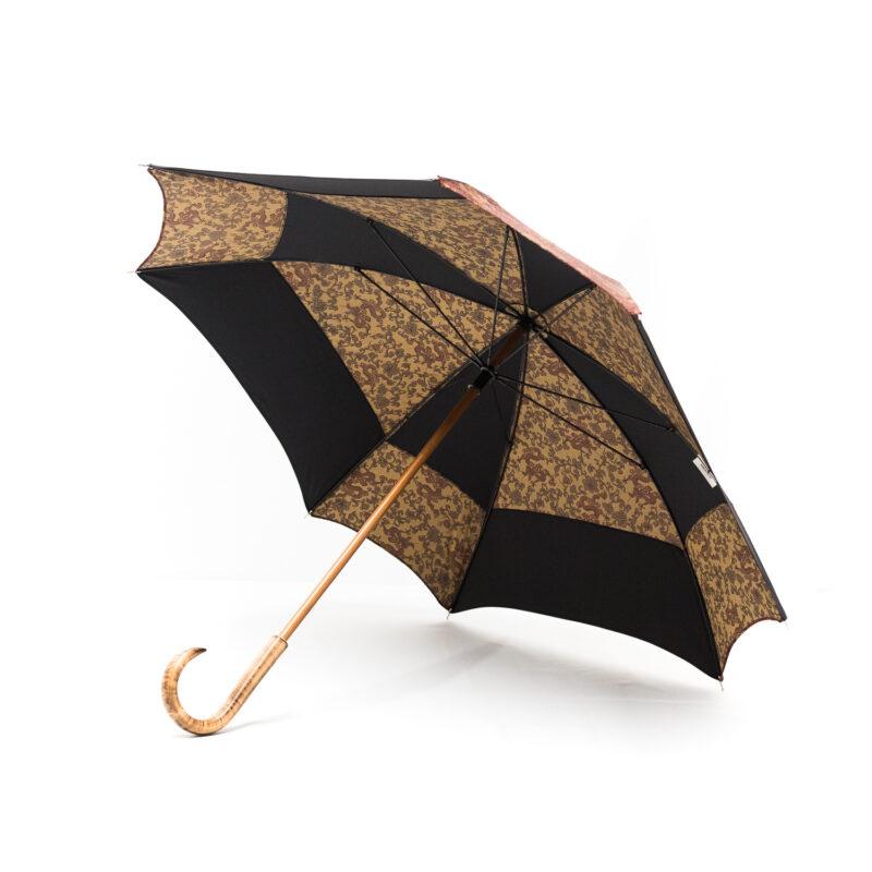 Parapluie carré dragons bordeaux