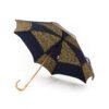 Parapluie carré dragons bleus