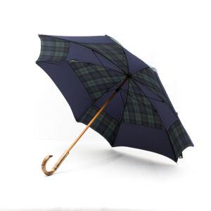 Parapluie carré écossais