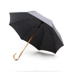Grand parapluie gris anthracite