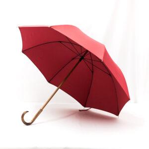 Grand parapluie rouge
