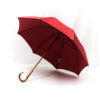 Parapluie droit classique rouge