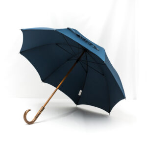 Parapluie droit classique bleu pétrole