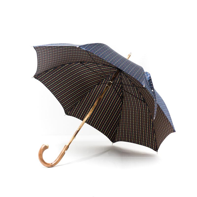 Parapluie luxe anglais bleu