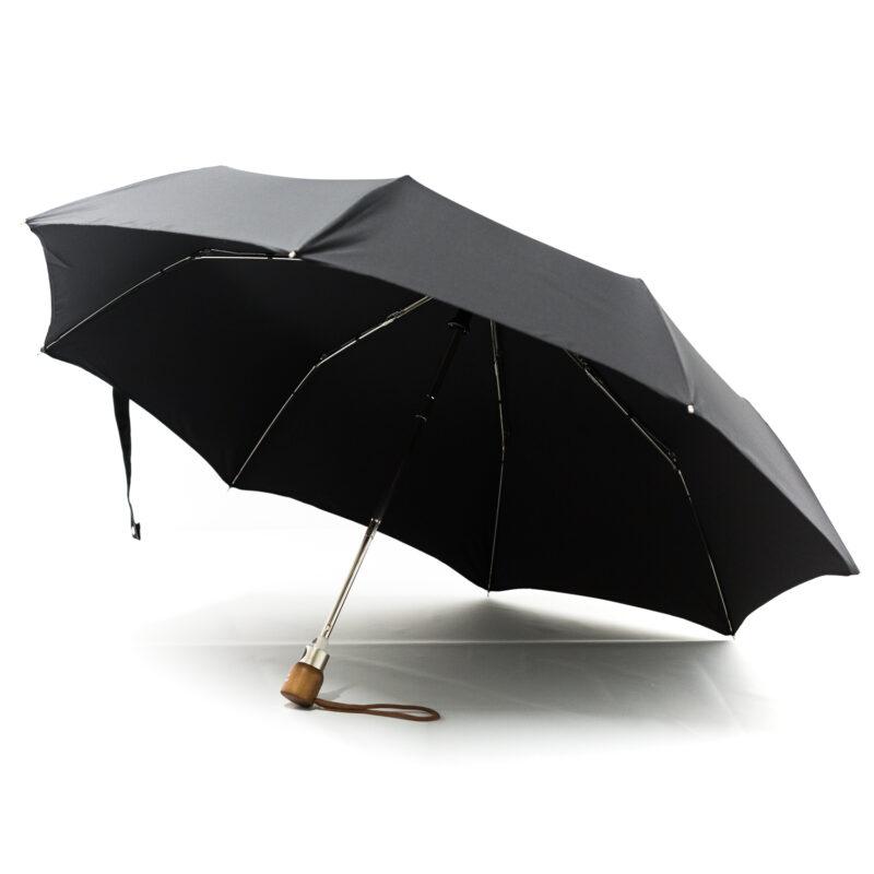Parapluie pliant classique noir