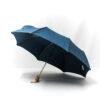 Parapluie pliant classique bleu pétrole