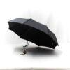 Parapluie pliant classique gris