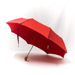 Parapluie pliant classique rouge