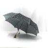 Parapluie pliant femme imprimé liberty bleu