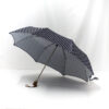 Parapluie pliant femme imprimé pois
