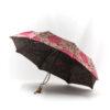 Parapluie pliant femme tissé hortensia