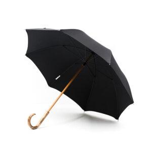 Parapluie droit classique noir
