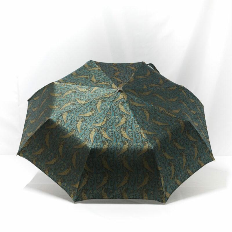 Parapluie pliant femme tissé cachemire