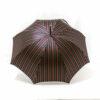 Parapluie anglais tissé rayures colorées