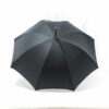 Parapluie chic anglais tissé petits carreaux gris