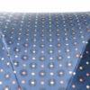 Parapluie luxe anglais tissé bleu