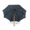 Parapluie chic anglais tissé petits carreaux bleus