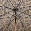 Parapluie anglais tissé dragons bleus