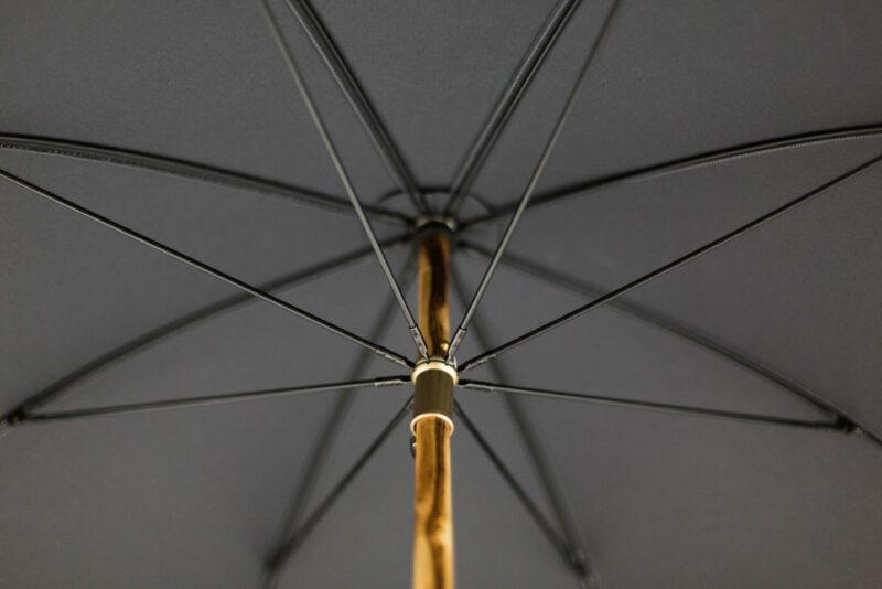 Parapluie anglais gris anthracite