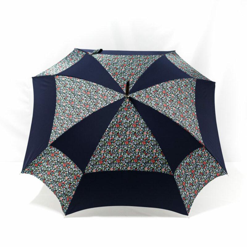 Parapluie carré liberty bleu
