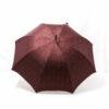 Parapluie droit tissé baroque bordeaux