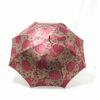 Parapluie droit tissé hortensia