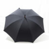 Parapluie droit classique gris anthracite