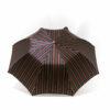 Parapluie pliant homme rayures colorées