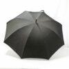 Grand parapluie homme tissé jean gris