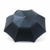 Parapluie chic pliant homme tissé petits carreaux bleus
