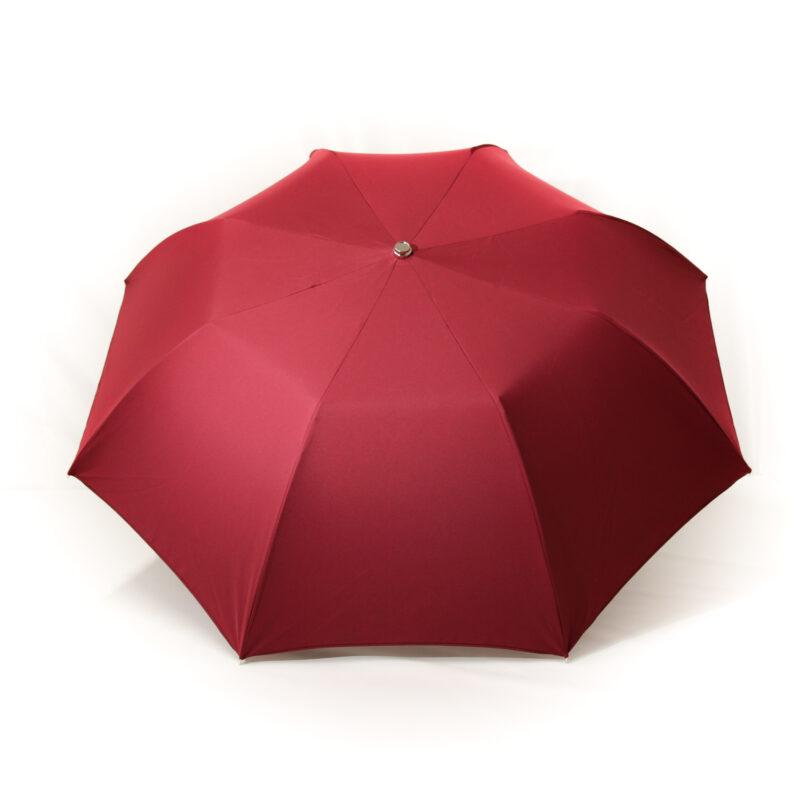 Parapluie pliant homme bordeaux