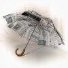 Parapluie pliant homme imprimé journal