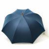 Grand parapluie homme bleu pétrole