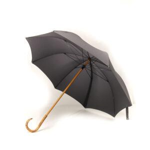 Grand parapluie homme gris